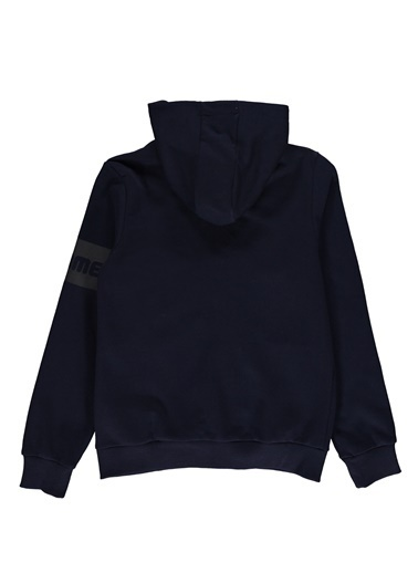 Hummel Çocuk Zip Hoodie Honorato 920578-7480 Mavi